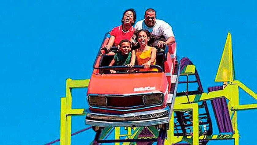 Wildcat roller coaster at Cedar Point