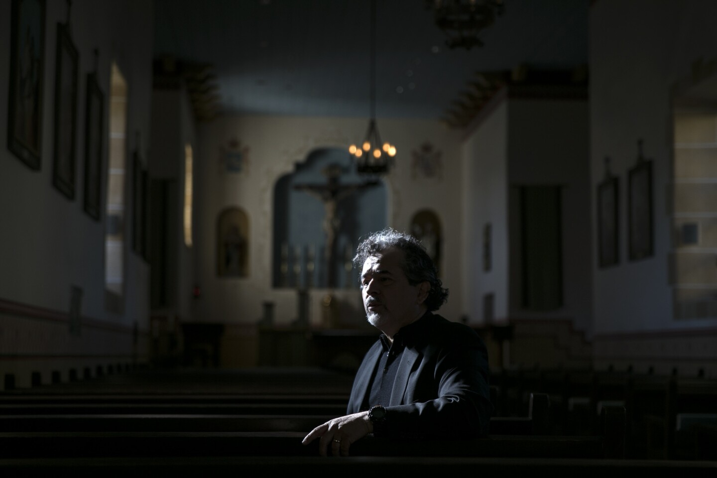 Ruben Mendoza, director of the California missions archaeological program at Cal State Monterey Bay, is half Yaqui Indian and half Mexican American.