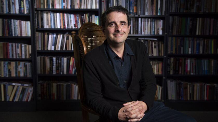 Alex Borucki, associate professor of history at UCI photo: Steve Zylius/UCI