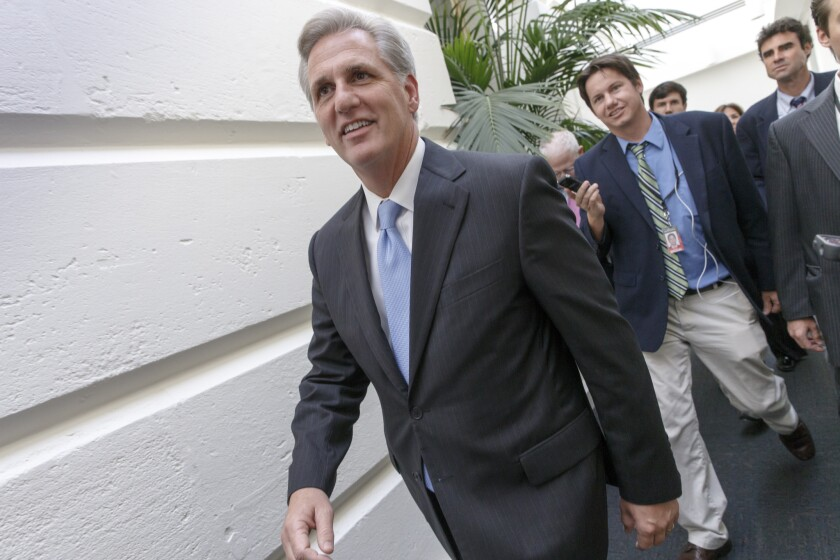 House Majority Leader Kevin McCarthy
