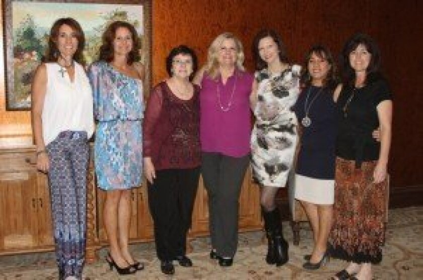 Lynn McComas, Diane Czajkowski, Jean Colarusso, Jennifer LeMons, Allison Quattrocchi, Adriana Karzen, and Mary Ann Stieber.