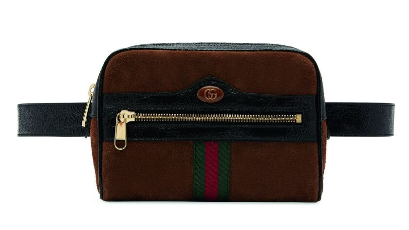 Gucci's Ophidia small belt bag is the latest must-have from fashion's most coveted brand, $1,390. Av