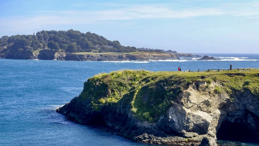 ONE TIME USE - *****PHOTO SLATED FOR TRAVEL SECTION ON 4/30**** Mendocino, CA – April 24, 2019: Gue