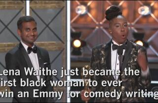 Watch Lena Waithe's historical win at the 2017 Emmy Awards