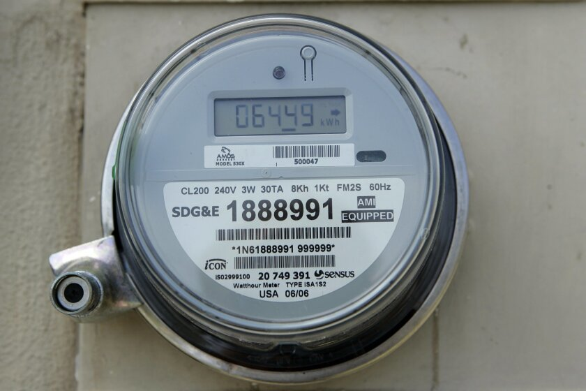 SDG&E charged $277 for a family using 1,000 kilowatt hours of electricity in October 2014, compared to $91 for a family using that amount with city power in Vernon, according to a survey by the Southern California Public Power Authority. [U-T file]