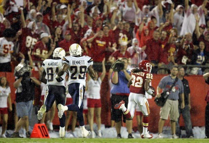 Chargers at Kansas City 9/12/2010