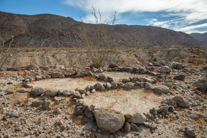 Some researchers have speculated that the rock rings were sleeping circles.