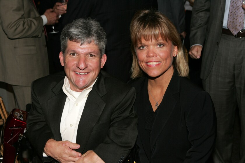"""Matt and Amy Roloff of """"Little People, Big World,"""" at an event in 2008."""