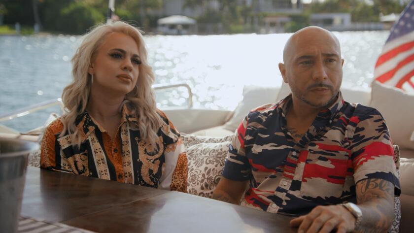 "Marie Ramirez De Arellano and Michael Blanco in ""Cartel Crew"""