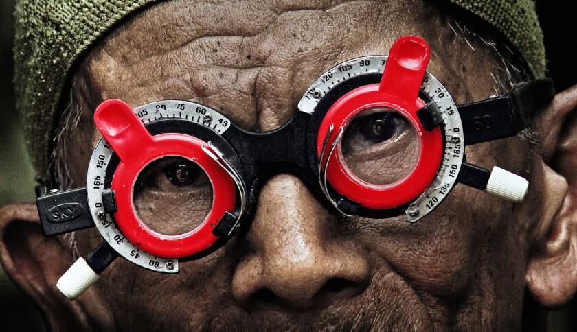 A scene from Joshua Oppenheimer's documentary 'The Look of Silence.'