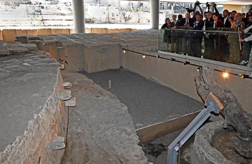 El Templo Mayor de capital mexicana exhibe nuevos hallazgos arqueológicos