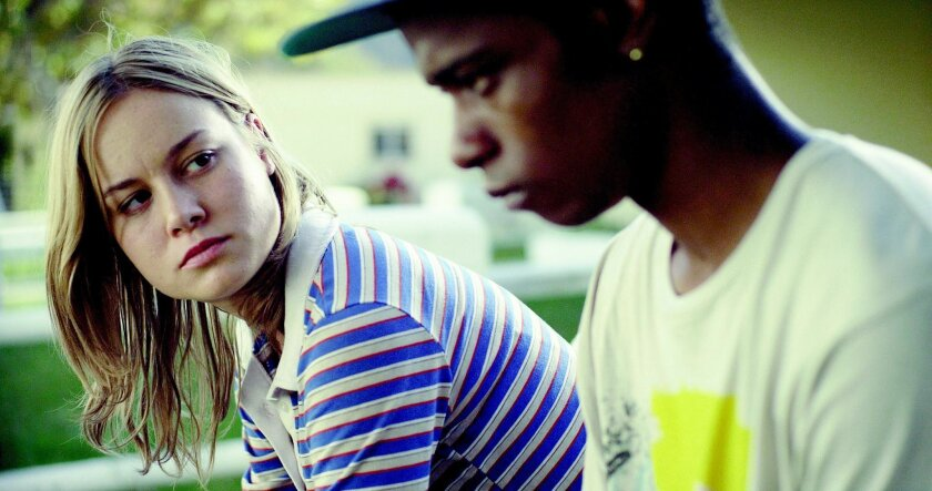 """Brie Larson as Grace and Keith Stanfield as Marcus in """"Short Term 12."""""""