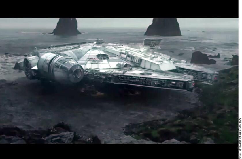 Presentan adelanto de Star Wars VIII
