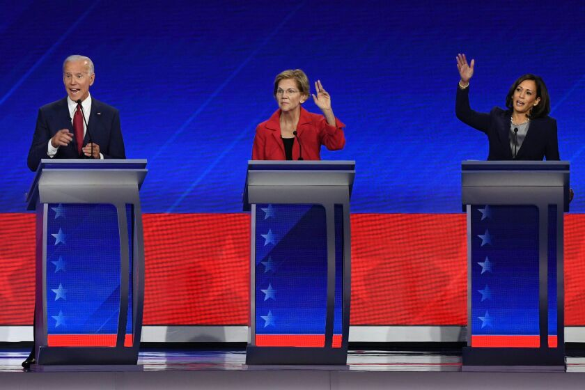 Democratic debate in Houston