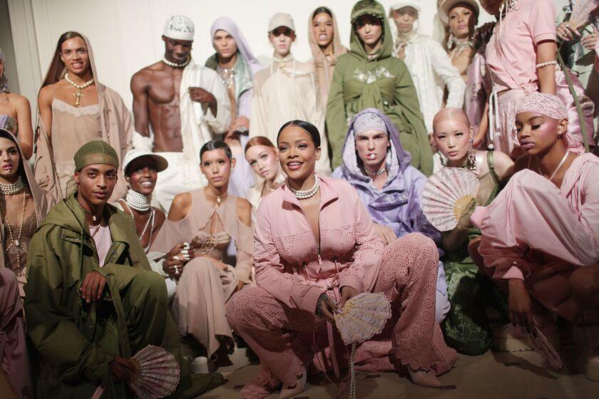 RihannaÕs Fashion Forays Over Time