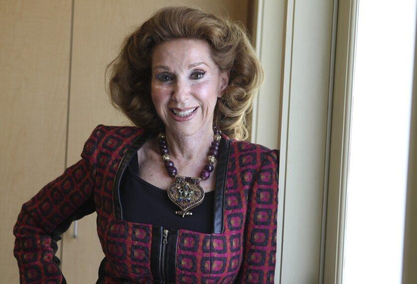 Community volunteer, philanthropist and jewelry designer Reena Horowitz.