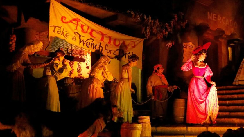 The bridal auction scene on Pirates is set for an update.