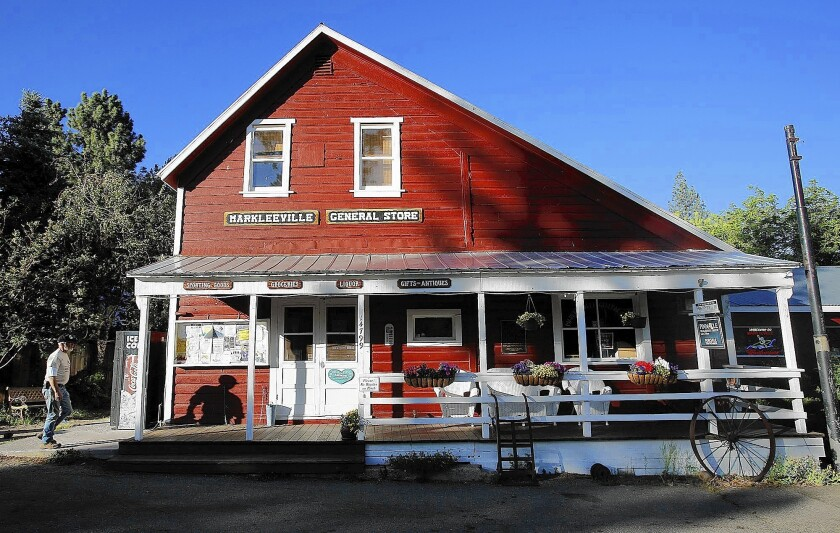 Markleeville General Store in Alpine County