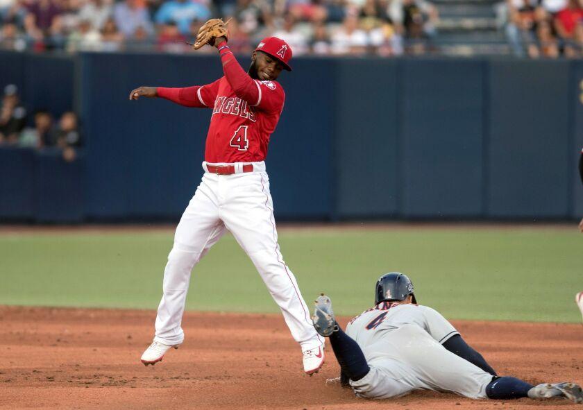 Houston Astros vs Los Angeles Angels, Monterrey, Mexico - 04 May 2019