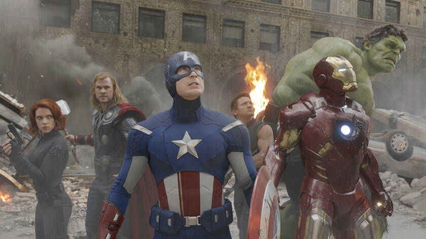 "Marvel Entertainment and Hero Ventures are hoping to capitalize on the success of such recent hit films as ""The Avenger,"" with Black Widow (Scarlett Johansson), Thor (Chris Hemsworth), Captain America (Chris Evans), Hawkeye (Jeremy Renner), Iron Man (Robert Downey Jr.) and Hulk (Mark Ruffalo)."