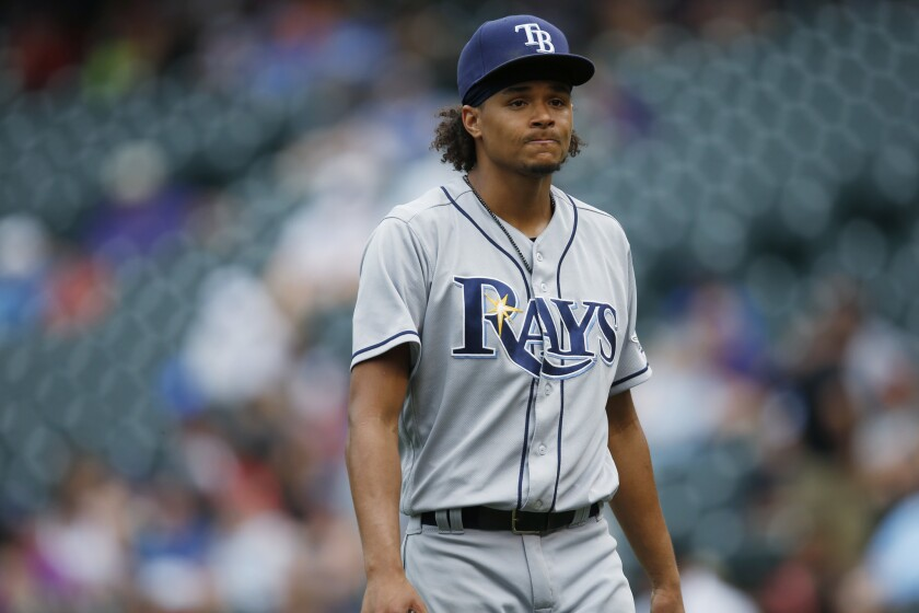 Will Chris Archer be pitching in a Dodgers uniform soon?