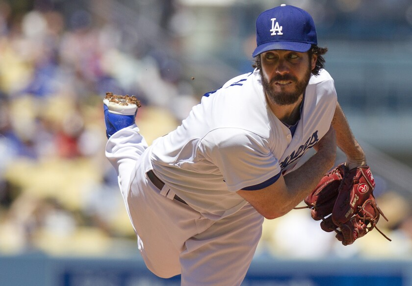 Former Angels and Dodgers pitcher Dan Haren opens up about the inner  turmoil that led to his retirement from baseball - Los Angeles Times