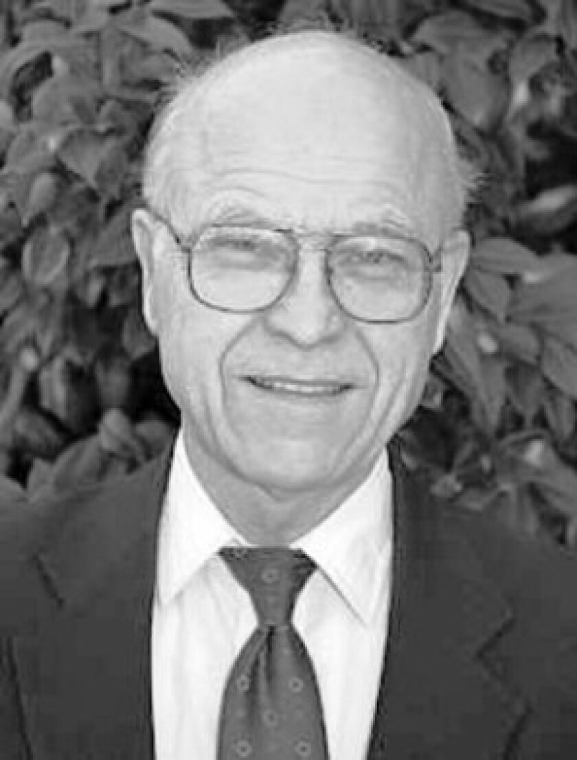 """Ralph D. Winter sought to spread the Gospel to the world's """"unreached people."""""""