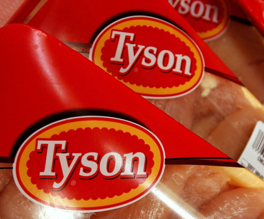 Tyson Foods is voluntarily recalling more than 30,000 pounds of chicken that may contain salmonella.