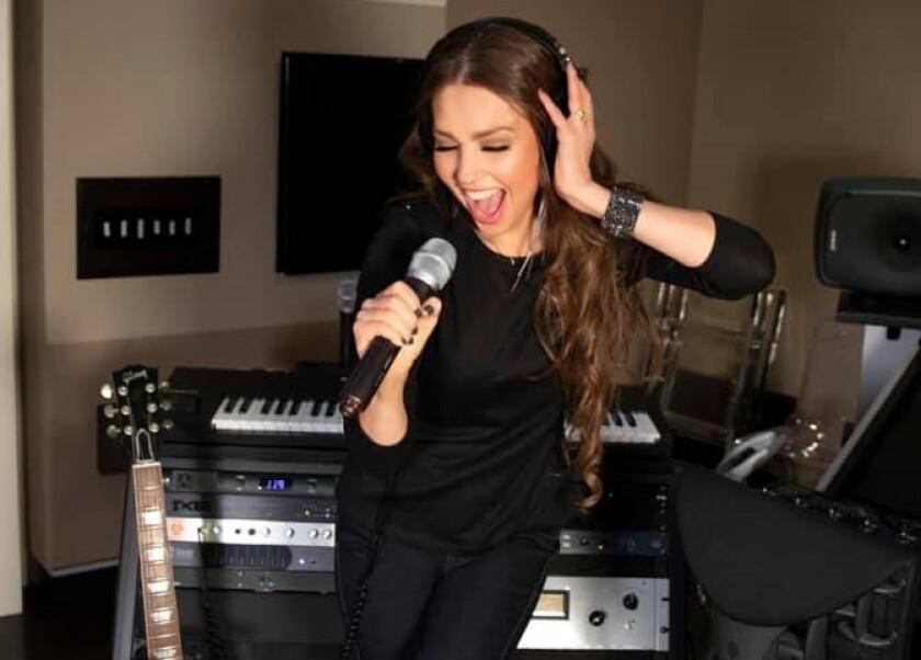 La cantante mexicana en una imagen reciente.