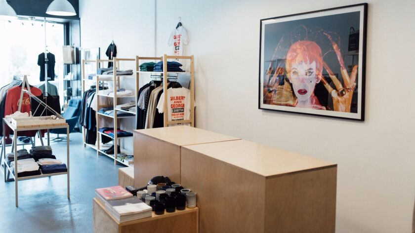 Agnès B. shop in shop at Wittmore's Beverly Grove store.