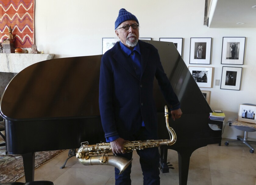 """I still have the beginner's mind and the benefit of experience,"" says Charles Lloyd."