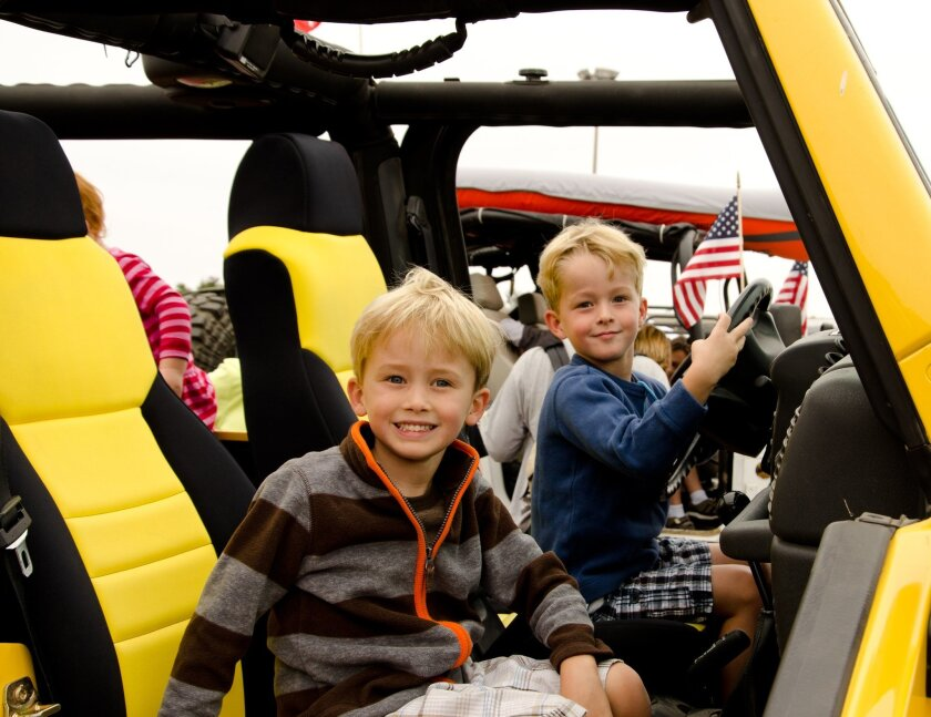 Touch A Truck San Diego started seven years ago with a vision to give kids the opportunity to sit in the driver's seats of vehicles big and small. Courtesy photo