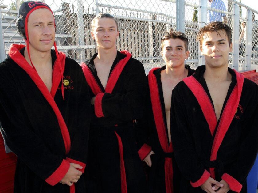 Seniors: Ryan Denny, Harmon Gwynn-Jones, Nick Baird, Alex Barker
