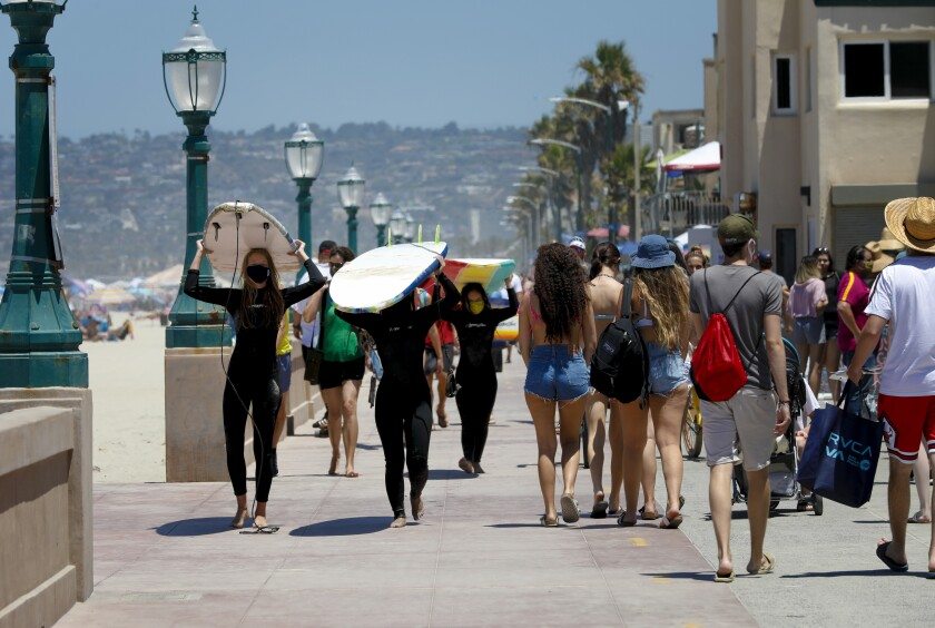California Coronavirus Cases And Hospitalizations Surge Los Angeles Times