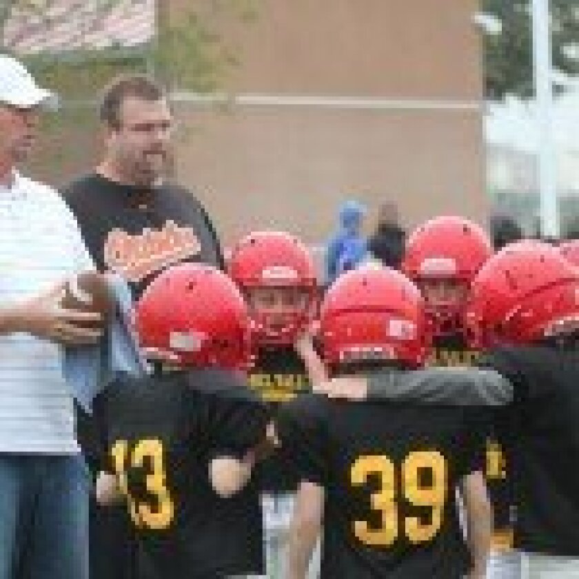 The freshman Dons football team recently won its first tackle game.