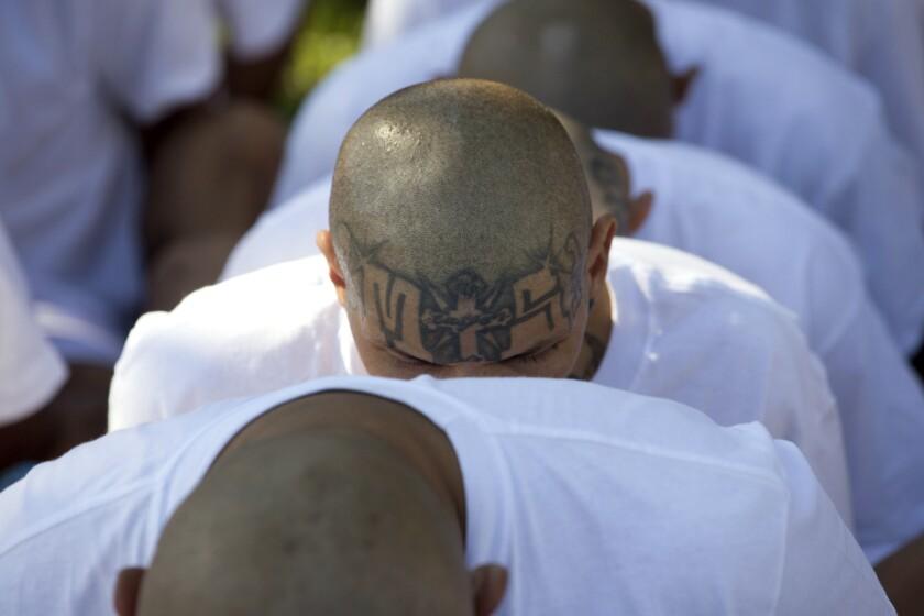 El Salvador Mass Gang Trial