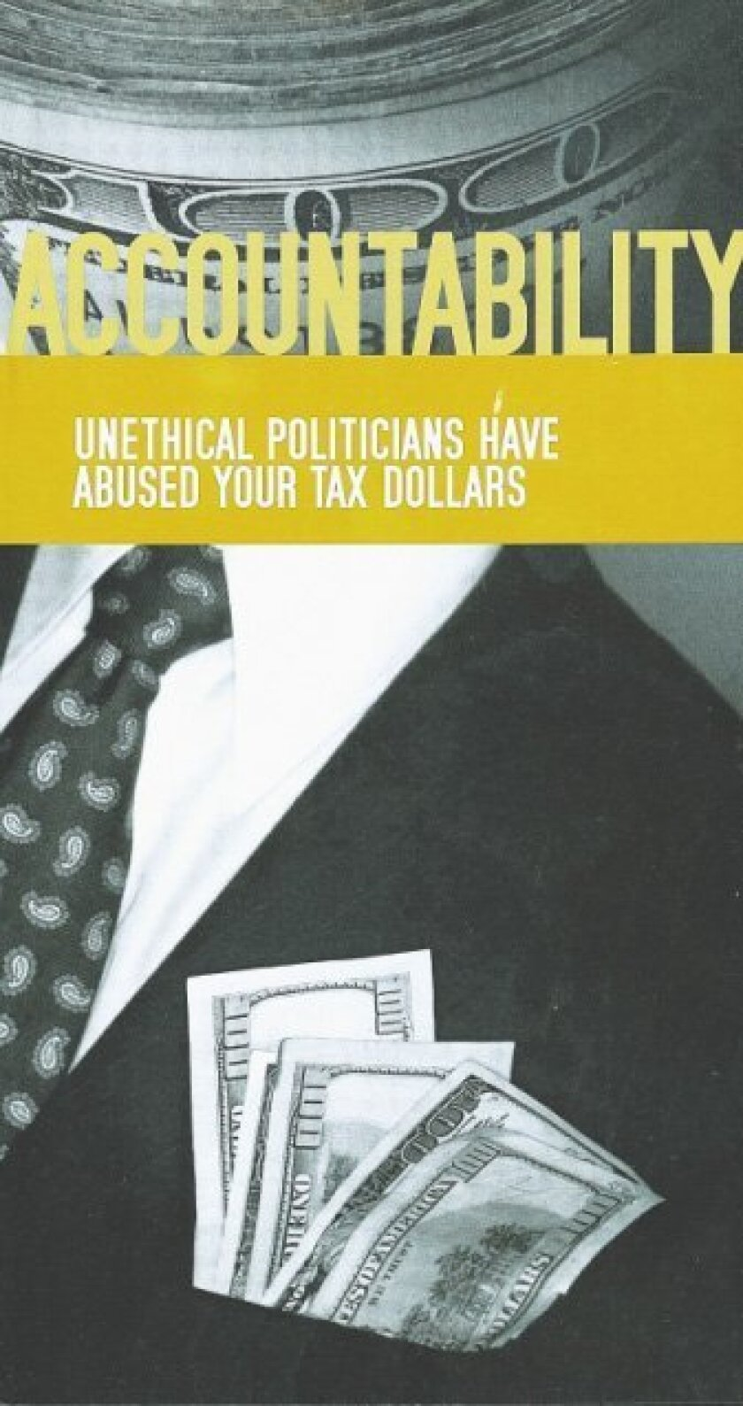 About 50,500 taxpayer-funded mailers were sent out by Assemblyman Joel Anderson regarding a bill he introduced.