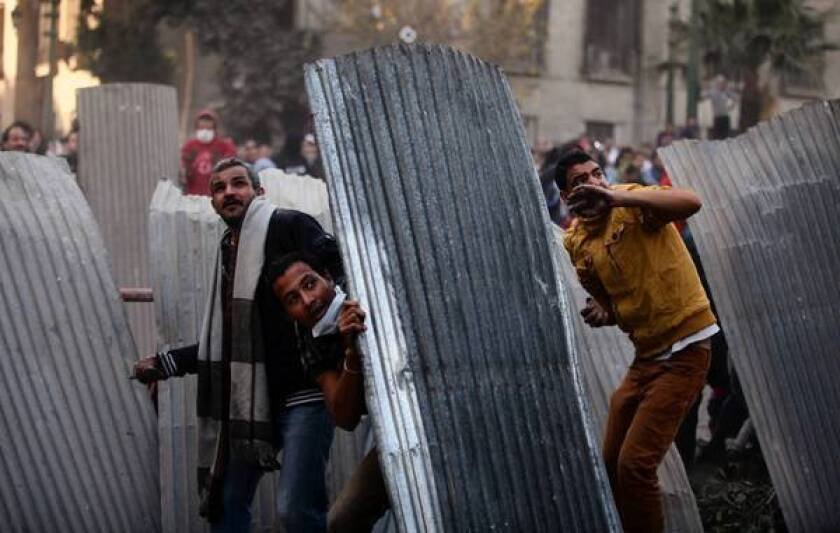 Deadly protests roil Egypt on anniversary of revolution