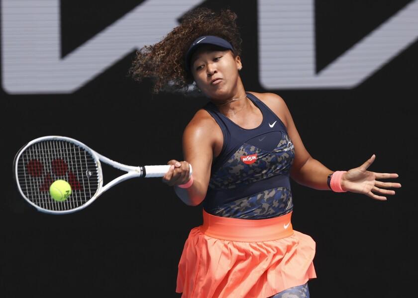 Naomi Osaka advances to Australian Open semifinals - Los Angeles Times