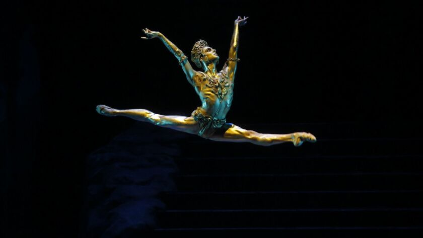 """American Ballet Theatre returns to the Music Center with a new production of """"La Bayadère."""" With Joseph Gorak."""