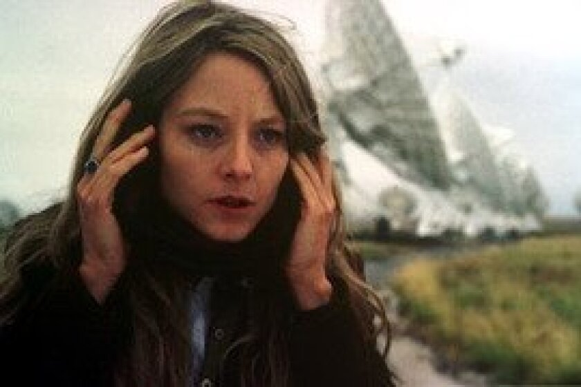 "The astronomer portrayed by Jodie Foster in ""Contact"" hears a signal that appears to be coming from Vega."