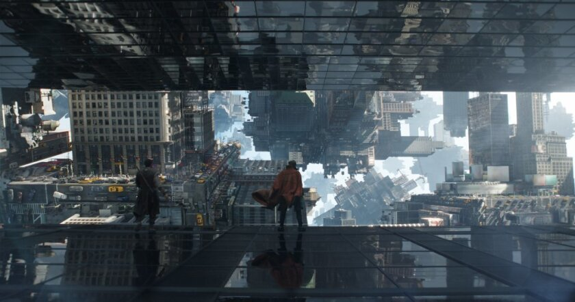 """The filmmakers behind Marvel's """"Doctor Strange"""" set out to create an M.C. Escher-like fight scene that wound up initially being """"so cool it was too cool"""" as early test audiences got disoriented from it."""