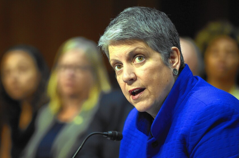 UC President Janet Napolitano said in May that she personally supported the State Department definition of anti-Semitism but that it would be up to the regents to decide whether to use it at UC.