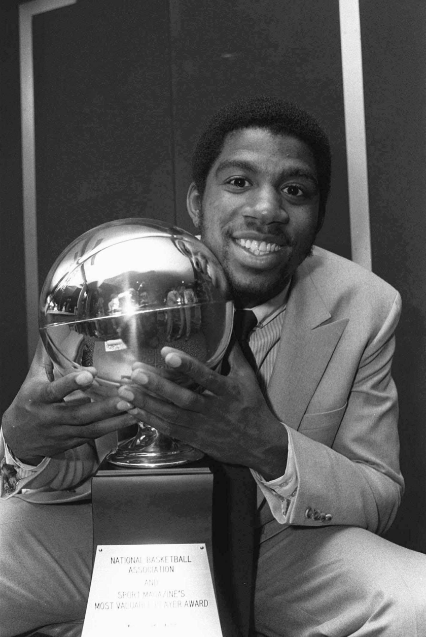 Magic Johnson was the MVP of the 1980 NBA Finals.
