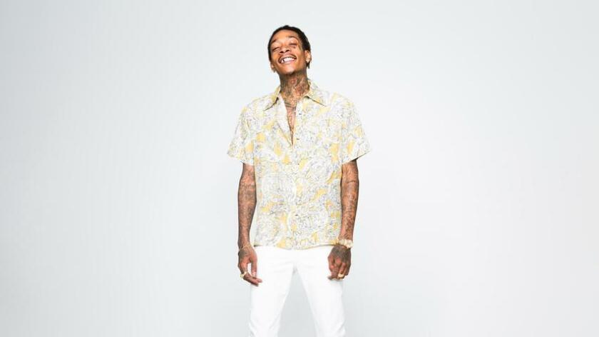 Wiz Khalifa is on the 33-city High Road Summer Tour with longtime friend and collaborator Snoop Dogg. (Anouk Morgan)