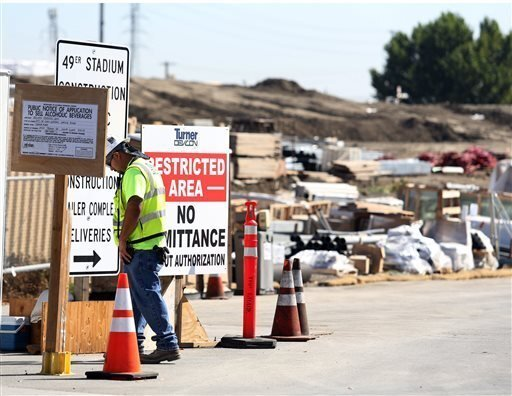 2nd worker dies at 49ers stadium construction site - The San Diego