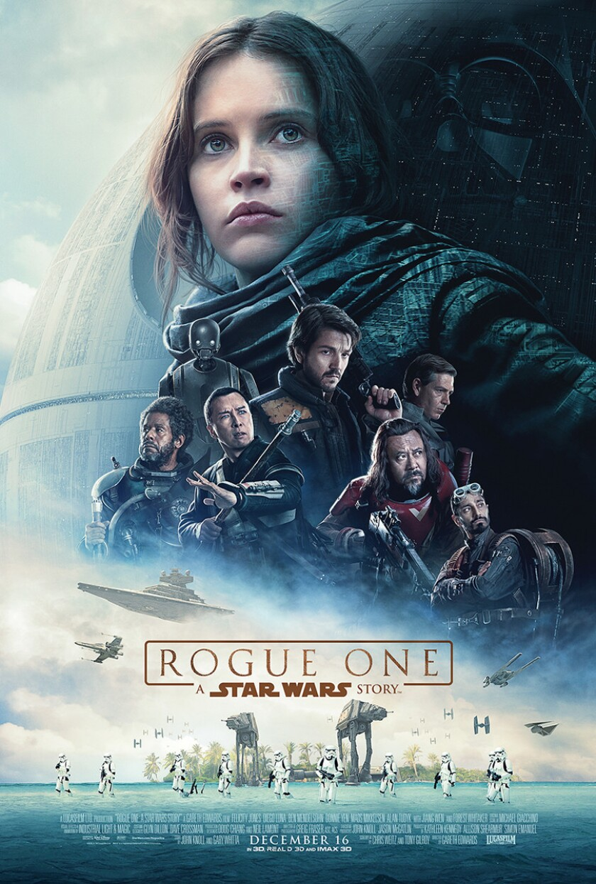 """Rogue One: A STAR WARS Story"" (movie poster)"