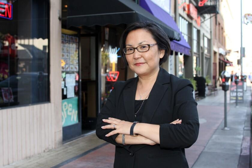 """Naomi Hirahara's new mystery, """"Murder on Bamboo Lane,"""" evokes contemporary Los Angeles."""