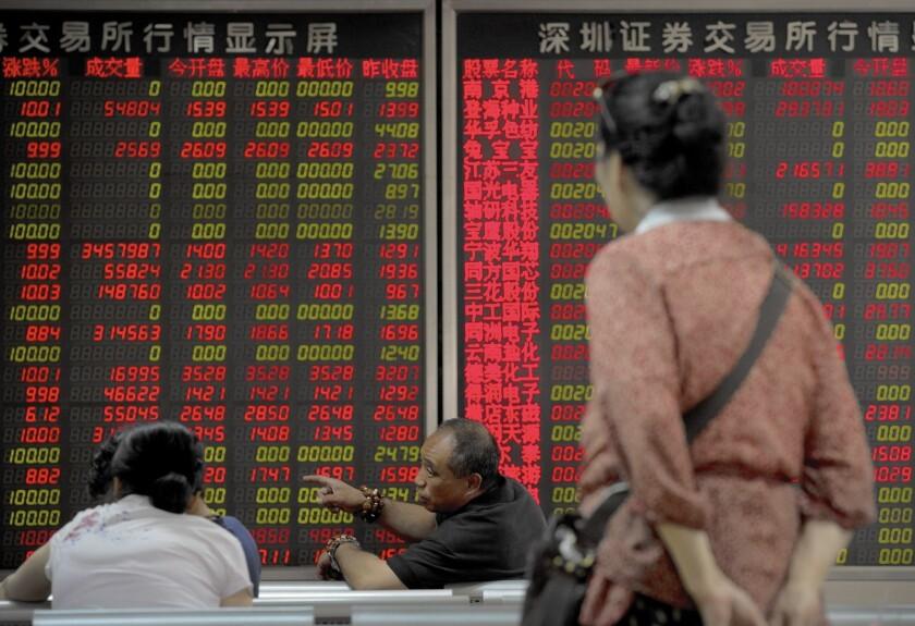 Stock market in China