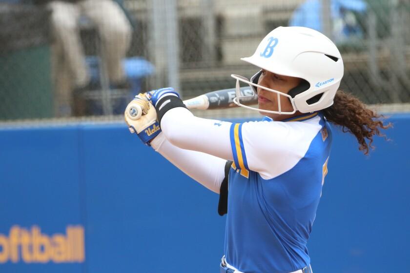 UCLA softball player Maya Brady